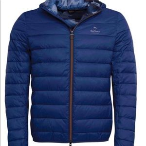 SALE! NWT Barbour Men's Harg Quilted Hooded L